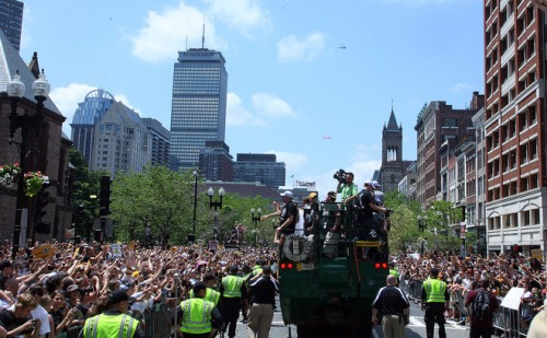 Boston Bruins Victory Parade
